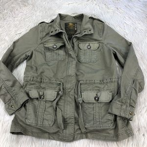 Lucky Brand Green Utility / Field Jacket